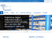 SITO WEB INGOMAT, spol. s r.o.