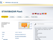 WEBOV� STR�NKA STAVOBAZAR Plze�