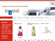 WEBOVÁ STRÁNKA Kremal Internetový obchod s elektrospotřebiči