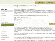 SITO WEB Obec Pliskov