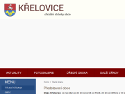 WEBOVÁ STRÁNKA Obec Křelovice