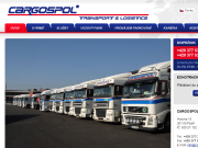 WEBOVÁ STRÁNKA CARGOSPOL, spol. s r. o. dopravní služby