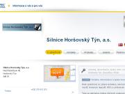 WEBOVÁ STRÁNKA Silnice Hor�ovsk� T�n, a.s.