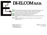 WEBOVÁ STRÁNKA DI-ELCOM, s.r.o.