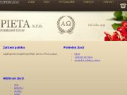 WEBOVÁ STRÁNKA PIETA spol. s r. o.