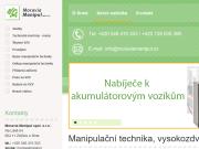 WEBOVÁ STRÁNKA Moravia Manipul, s.r.o.