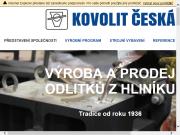 WEBOVÁ STRÁNKA KOVOLIT Česká, spol. s r.o.