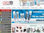 WEBSEITE OKENTES, spol. s r.o. Internetovy obchod