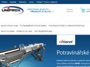 WEBOVÁ STRÁNKA UNIPROX, spol. s r.o.