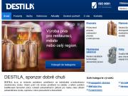 WEBOVÁ STRÁNKA DESTILA, s.r.o.