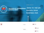 SITO WEB Regionalni hospodarska komora Brno RHK Brno
