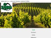 WEBOVÁ STRÁNKA ZAMMA-SUDY, s.r.o. vinařské potřeby