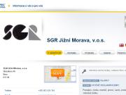 SITO WEB SGR Jizni Morava, v.o.s.