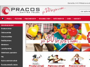 WEBOVÁ STRÁNKA F.M.PRACOS, spol. s r.o. Stroje - Pracovní oděvy - Reklama - Tisk