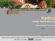 WEBOVÁ STRÁNKA Restaurace a penzion Kadlcův mlýn