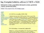 WEBOVÁ STRÁNKA G-VIEW Ing. Svatopluk Sedl��ek