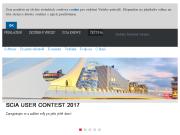 WEBOVÁ STRÁNKA SCIA CZ, s.r.o. Software pro stavebnictví Praha