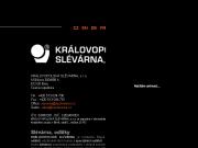 WEBOVÁ STRÁNKA KRÁLOVOPOLSKÁ SLÉVÁRNA, s.r.o.