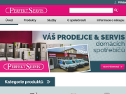 WEBOVÁ STRÁNKA PERFEKT SERVIS spol. s r.o. Slevněnka