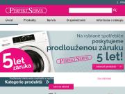 WEBOVÁ STRÁNKA PERFEKT SERVIS spol. s r.o.