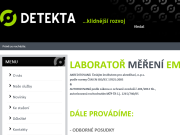 SITO WEB Detekta s.r.o.