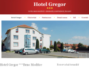 WEBOV� STR�NKA Hotel Gregor *** Mod�ice MARANELLO KART, s.r.o