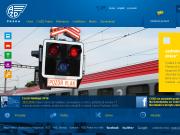 WEBOVÁ STRÁNKA AŽD Praha s.r.o. Divize automatizace a silniční techniky