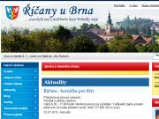 WEBOVÁ STRÁNKA Obec Říčany