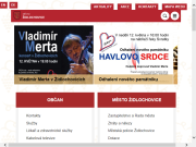 SITO WEB Mesto Zidlochovice