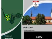 WEBOVÁ STRÁNKA Město Zbýšov