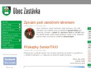 WEBOVÁ STRÁNKA Obec Zastávka