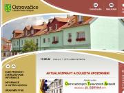 WEBOVÁ STRÁNKA Městys Ostrovačice