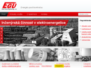 SITO WEB EGU Praha Engineering, a.s.
