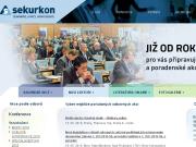 WEBOVÁ STRÁNKA SEKURKON, s.r.o. semináře, kurzy, konference Praha