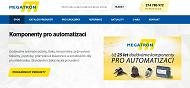 SITO WEB MEGATRON, s.r.o. Komponenty pro automatizaci Praha