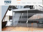WEBOVÁ STRÁNKA TETRA Security, s.r.o. Zabezpečovací zábrany a systémy Praha
