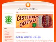 WEBOVÁ STRÁNKA Černošická čistírna, s.r.o. Chemické čištění oděvů Praha - západ