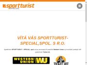 WEBOVÁ STRÁNKA SPORTTURIST - SPECIAL spol. s r.o.