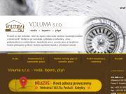 WEBOVÁ STRÁNKA VOLUMA s.r.o. Vodoinstalatérské topenářské práce Praha