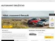 WEBOVÁ STRÁNKA AUTOAVANT DRU�STVO Autorizovan� prodejce Renault