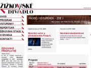 WEBOVÁ STRÁNKA Žižkovské divadlo J.Cimrmana