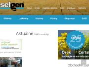 SITO WEB SELGEN, a.s. Slechteni novych odrud polnich plodin