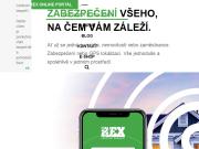 WEBOVÁ STRÁNKA 1. REX SERVICES, a.s. sledování a zabezpečení automobilů