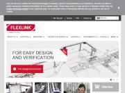 WEBOVÁ STRÁNKA FlexLink Systems s.r.o. Flexibilní článkové dopravníky Praha