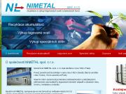 WEBOVÁ STRÁNKA NIMETAL, spol. s r.o. Technology Park Nimetal