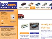 WEBOVÁ STRÁNKA FOX toys, s.r.o.