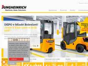 SITO WEB Jungheinrich (CR) s.r.o. Skladovaci, manipulacni technika Praha