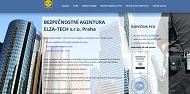 WEBOVÁ STRÁNKA ELZA-TECH s.r.o. Bezpečnostní agentura Praha