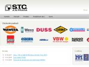 WEBOVÁ STRÁNKA S.T.C. a.s. Praha
