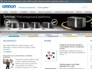 WEBOVÁ STRÁNKA OMRON ELECTRONICS spol. s r.o. Komponenty pro průmyslovou automatizaci